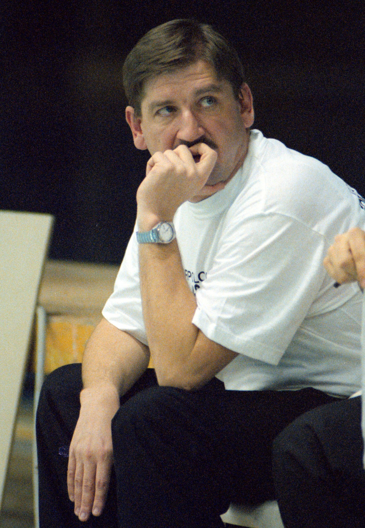 2000. (12.02.) Nenad Manojlovic, trener vaterpolista Partizana