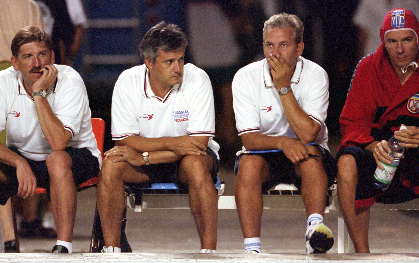 2000.  TRENERI REPREZENTACIJE na utakmici protiv Italije u Beogradu (13.08.)